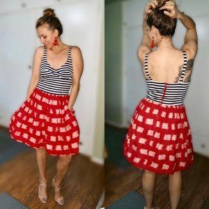 RARE Corey Lynn Carter full skirt dress